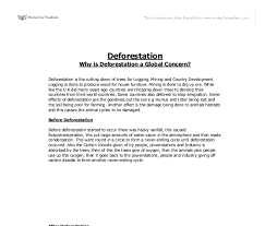 essay on deforestation edgar allan poe research paper healthy essay on deforestation
