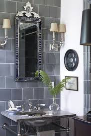 Get inspired for your next bathroom remodel with these 17 gray and white bathrooms with various not only does it allow for a lot of room for error (gray always matches with other grays and white) it is complemented by an also very wide mirror and a small shelf. 40 Black White Bathroom Design And Tile Ideas