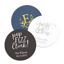 Wedding Coasters Personalized Custom Wedding Coasters The Knot Shop