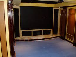 home theater step lighting. building a home theater curved front stage and stair step lighting pictures y
