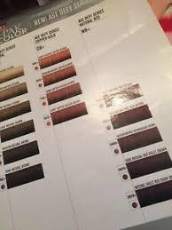 Details About Vero K Pak Color System Chart Haircolor Paper Swatch Chart