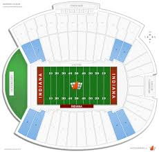 Memorial Stadium Seating Chart Iu Football Seating Chart Www Bedowntowndaytona Com