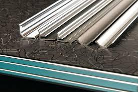 metal banding retro table flexible countertop edging