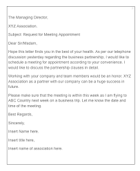 Request Sample Letters Formal Meeting Request Letter Sample Top Form Templates Free