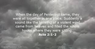 Violent Bible Quotes Bible Verses about Pentecost DailyVersesnet 70