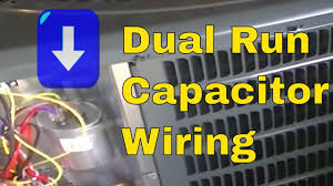 hvac training dual run capacitor wiring hvac training dual run capacitor wiring