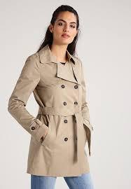 edc by esprit trenchcoat beige women code 1001266