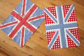 This year's crop of Union Jack quilt blocks - Diary of a Quilter ... & This year's crop of Union Jack quilt blocks Adamdwight.com