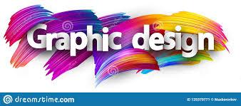 Spectrum Graphic Design Graphic Design Paper Banner With Colorful Brush Strokes
