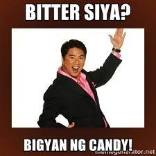 Bitter siya? Bigyan ng Candy! - Bigyan ng jacket!! | Meme Generator via Relatably.com