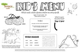 Printable Stencils For Kids Kids Menu Kid Menu Designs Kid Menu Templates Musthavemenus