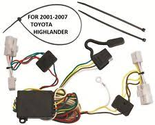 towing & hauling parts for toyota highlander ebay 2007 Toyota Highlander Trailer Wiring Harness 2001 2007 toyota highlander trailer hitch wiring kit harness plug & play t one (fits toyota highlander) 2010 toyota highlander trailer wiring harness