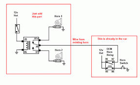 horn wiring diagram out relay horn wiring diagrams online horn wiring diagram out relay wiring diagram