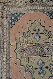 pale pink persian rug simple style vintage rug in a large size with pink and grey