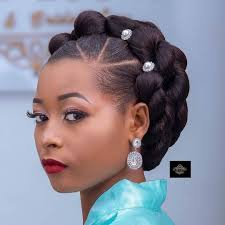Dressed Up Hair In 2019 Natural Hair Updo Hair Hair Jewelry