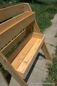 raised multi leveled garden planter box