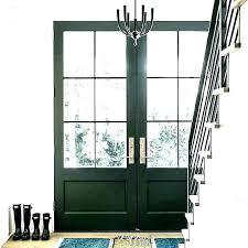 black double entry doors black front door with glass double entry doors with glass black front