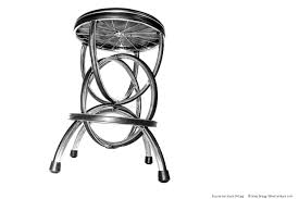 Bicycle Furniture Bicycle Wheel Barstool S 2 Bike Furniture Design Bike