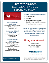 overstock com employers hosting hiring events in tumwater and elma overstock com employers hosting hiring events in tumwater and elma
