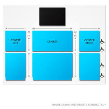 Rivers Casino Event Center Seating Chart Blue Oyster Cult 21 Event Schenectady Tickets 12 28
