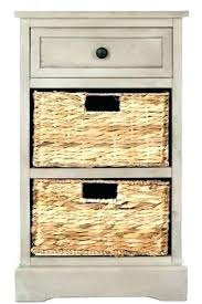 sofa table with storage baskets. Side Tables With Storage Sofa Table Cabinet End Baskets R