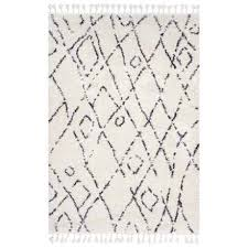 nuloom soft moroccan area rug 5 3 x7 7 in multi