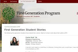 supporting first gen college students university business magazine