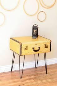 24 Best DIY Vintage Suitcase Table Ideas