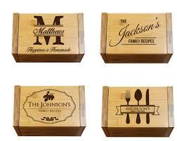 Decorative Recipe Box Recipe card box Etsy 41