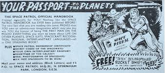 Image result for images of 1950's space patrol