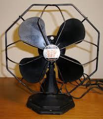 antique general electric trade wind desk fan vintage ge non oscillating desk fan