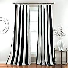 rugby stripe curtain black and white vertical striped curtains com 2 piece inch bold black rugby stripe curtain