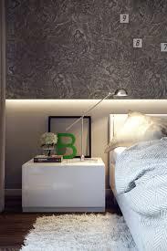 Bedroom Designs: 4 Modern Bedroom Feature Wall - Closets