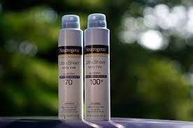 Neutrogena and Aveeno sunscreen recall ...