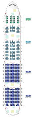 airline seating charts boeing airbus