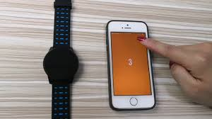B2 wearfit app <b>color screen sport smart</b> band - YouTube