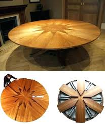 unique round expandable dining table and expanding circular dining table round dining table with rotation expands