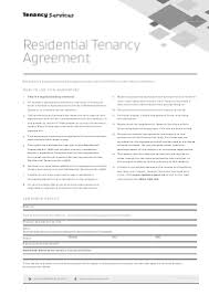 The forms are called prescribed forms because the wording in them has been carefully drafted to ensure that the person completing legal stationers also supply tenancy agreements that have been carefully drafted to comply with the law. Form 01 Download Fillable Pdf Or Fill Online Residential Tenancy Agreement New Zealand Templateroller