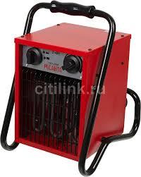 <b>Тепловая пушка</b> электрическая <b>РЕСАНТА ТЭП</b>-<b>2000</b> красный ...