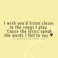 Good Song Lyrics Quotes Enchanting Quotes About Love From Song Lyrics 48 Quotes