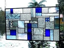 hndmde pnel stained glass sheets
