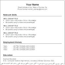 Effective Resume Format To A Simple Resume Sample Effective Resume ...