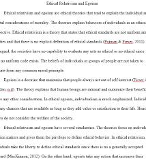 ethical egoism essay ethical egoism and psychological dispositions