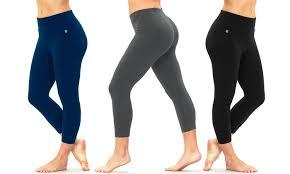 Bally Fitness Size Chart Bally Fitness Womens Leggings Groupon Goods