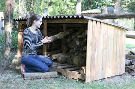 Introduction. Learn how to make an outdoor firewood storage ...