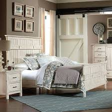 Antique White Furniture Bedroom Terrace Panel Bed Antique White ...