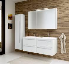 Badmöbel Set I Bidar 3 Teilig Inkl Doppelwaschtisch Farbe Weiß
