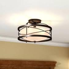 semi flush mount lighting. Round Light Fixture Mounting Bracket Ceiling Mount Lights Farrier 2 Semi Flush Lighting