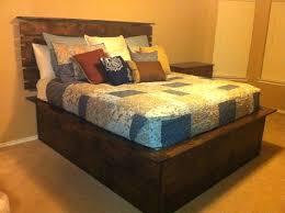 High Platform Bed King Size Frame – Reduza