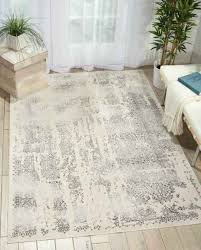 safavieh evoke vintage watercolor damask grey ivory distressed rug silver screen area 1